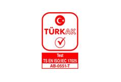 TURKAK – Akreditasyon Belgesi